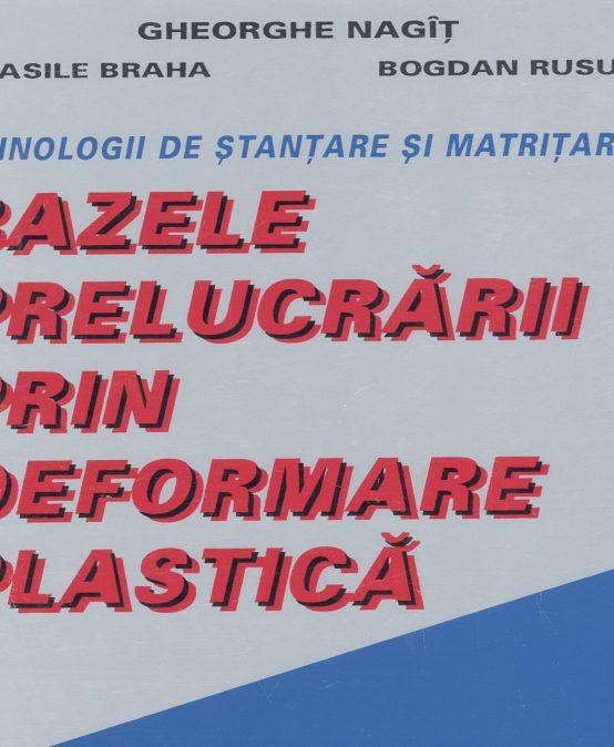 Bazele prelucrărilor prin deformare plastică (I)