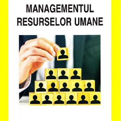 Managementul resurselor umane și a conflictelor de muncă