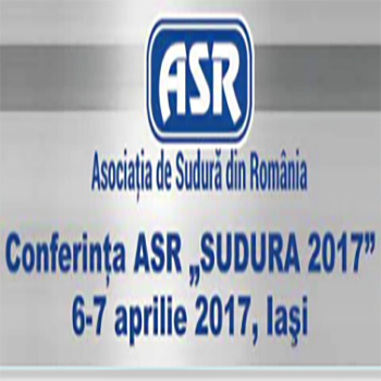 """Conferința """"SUDURA 2017"""""""